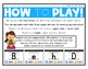 Identify Upper and Lower Case Letters - Movement Interactive Game