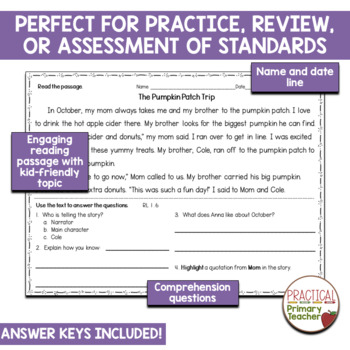Identify Who Is Telling the Story