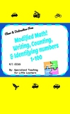 Identify, Write, and Count Numbers 1-120 #BTSBONUS