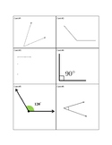Identify acute, right, and obtuse angles