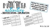 Identify and Explain Main Idea + Details