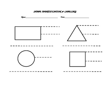 Identify and Label the Shape
