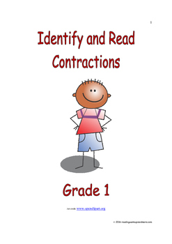 Identify and Read Contractions: Introduce/Practice/Assess