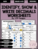 Identify and Show Decimals Models
