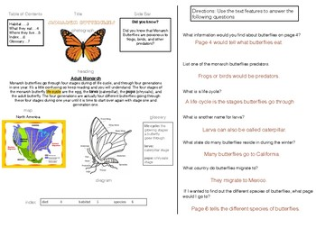 Identify and Use Text Features