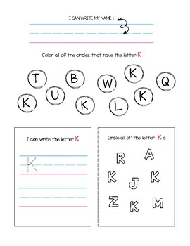 Identify and Write Upper Case Letters