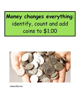 Identify, count, and add coins to $1