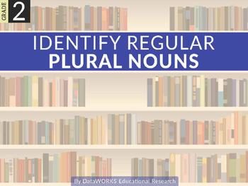Identify Regular Plural Nouns