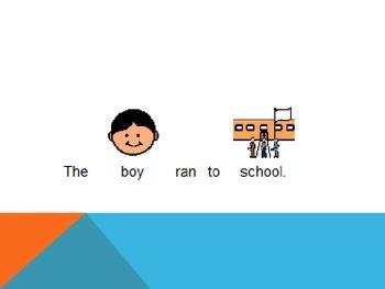 Identify nouns in sentences