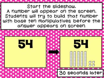 Identify or Build Numbers BUNDLE-Represent Numbers in Standard Form and Base Ten