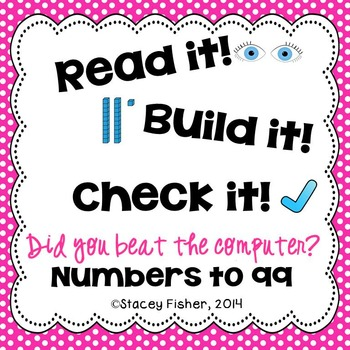 Identify or Build Numbers to 99-Represent Numbers in Stand