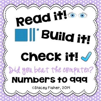 Identify or Build Numbers to 999-Represent Numbers in Standard Form and Base Ten