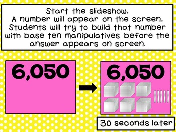 Identify or Build Numbers to 9,999-Represent Numbers in Standard Form & Base Ten
