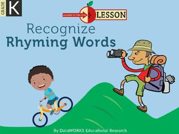 Identify Rhyming Words - Short Vowels