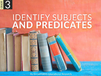 Identify subjects and predicates