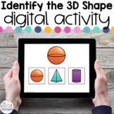 Identify the 3D Shapes FREEBIE - Digital Activity for Spec