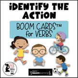 Identify the Action BOOM Cards™ : Receptive Tasks for Verb