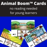 Identify the Animal Digital Task Cards-No Reading Needed (