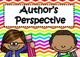 Identify the Author's Perspective or Point of View: Digital Task Cards