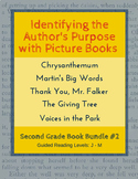 Identify the Author's Purpose with Picture Books (Second Grade Book Bundle #2)