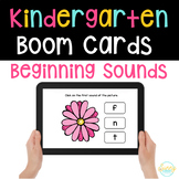 Identify the Beginning Sound - Boom Digital Task Cards