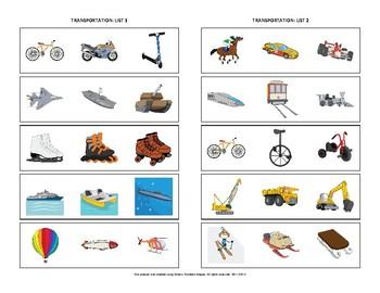Identify the Category: Transportation