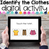 Identify the Clothes- Digital Activity - Distance Learning