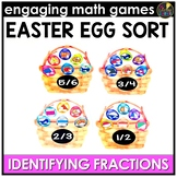 Easter Math Game | Identify the Fraction