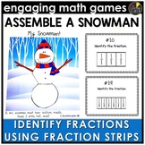 Identify the Fraction Using Fraction Strips Game