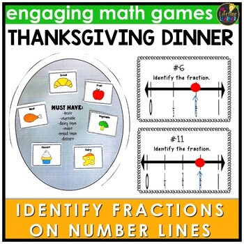Identify the Fraction on the Number Line Game