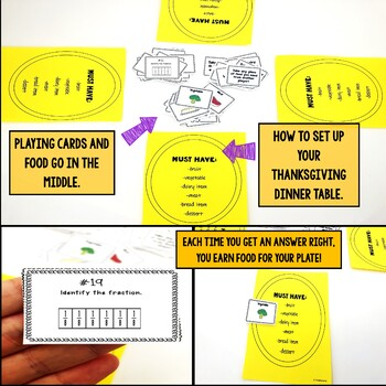 Identify the Fractions Using Fraction Strips Game