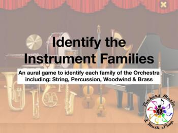 Identify the Instruments of the Orchestra