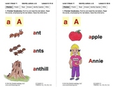 Identify the Letter A: Lesson 6, Book 11 (Newitt Decoding Series)