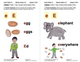 Identify the Letter E: Lesson 3, Book 12 (Newitt Decoding Series)