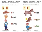 Identify the Letter H: Lesson 4, Book 11 (Newitt Decoding Series)
