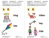 Identify the Letter K: Lesson 6, Book 12 (Newitt Decoding Series)