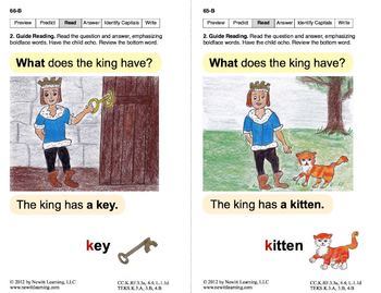 Identify the Letter K: Lesson 6, Book 12 (Newitt Decoding Series)
