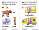 Identify the Letter O: Lesson 9, Book 12 (Newitt Decoding Series)
