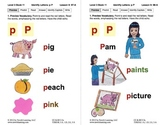 Identify the Letter P: Lesson 9, Book 11 (Newitt Decoding Series)