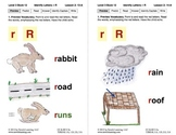 Identify the Letter R: Lesson 2, Book 12 (Newitt Decoding Series)