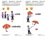 Identify the Letter U: Lesson 10, Book 15 (Newitt Decoding Series)