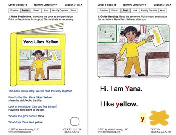 Identify the Letter Y: Lesson 7, Book 15 (Newitt Decoding Series)