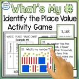 Identify the Place Value Matching Game Activity