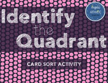 Identify the Quadrant- Card Sort