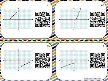 Identify the Slope with QR codes