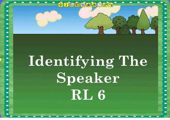 Identify the Speaker Flipchart