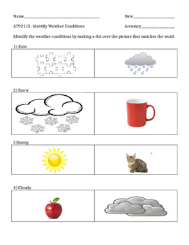 Identify the Weather Conditions