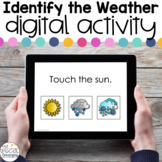 Identify the Weather FREEBIE - Digital Activity for Specia