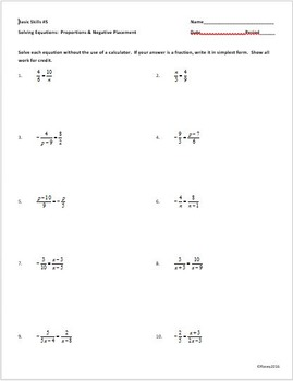 Enhance the basic skill level of your Common Core Math 2 Students.
