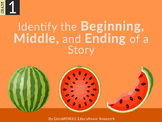 Identify the Beginning, Middle, and Ending of a Story